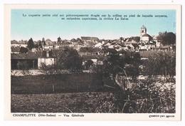 CHAMPLITTE  70  Vue Générale - Autres Communes