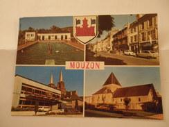 CPSM 08 ARDENNES - MOUZON MULTI VUES - France