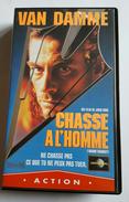 Une K7 Vidéo VAN DAMME CHASSE A L 'HOMME - Action, Aventure