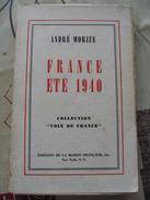 André Morize - France été 1940 / Collection Voix De France - 1901-1940