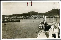 080-SPAIN-SPANIEN-ESPANA LAS PALMAS Grand Canaria Ansicht-view-Vista From Von Boot-from The Boat-desde El Barco 1936 - Gran Canaria