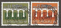 Luxemburg 1984 // Michel 1098/1099 O