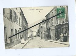 CPA  -  Etain   - Rue De Metz - Etain