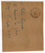 Cachet Manuel Du 28-4-1964--Cachet Manuel  BISCHWILLER-67--Mention PP Sur Fragment De Lettre--Particularité - Marcophilie (Lettres)