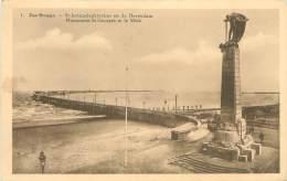 ZEE-BRUGGE - St. Jorisgedenkteeken En De Havendam - Zeebrugge