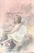 UN ANGEL POSTAL FIRMADA POR RAMON AYALA TORALES TERRATENIENTE DE PUNTA ALTA Y BAHIA BLANCA QUIEN CONSTRUYO EL CHALET DE - Engelen