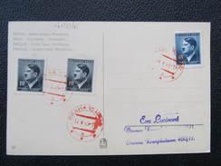 BRIEF Revolutionsstempel 12.5.1945 Praha 10 Hrad  // D*22016 - Böhmen Und Mähren