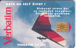 CZECH REPUBLIC - Verbatim, Tirage 50000, 02/94, Used - Tchéquie