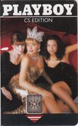 CZECHOSLOVAKIA - Playboy 1, Chip SC5, Tirage %50500, 09/92, Used