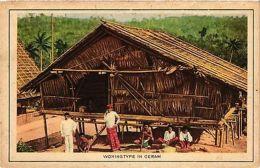 CPA Indonesia, Woningtype In Ceram (360913) - Indonesia