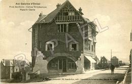 Onival (Ault) (80) - Poste Auxiliaire - Cabine Téléphonique - Place Du Centre - Onival