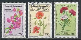 °°° TUNISIA - Y&T N°1366/68 - 1999 °°° - Tunisia (1956-...)