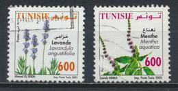 °°° TUNISIA - Y&T N°1555/56 - 2005 °°° - Tunisia (1956-...)