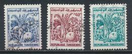 °°° TUNISIA - Y&T N°81/82/83 TAXE - 1960/1977 °°° - Tunisia (1956-...)