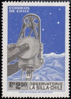 CHILE - Scott #436 Inauguration Of La Silla Astronomical Observatory (*) / Mint NH Stamp - Astrology