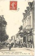 Sidi Bel Abbés  La Rue Turgot  CPA 1908 - Sidi-bel-Abbes