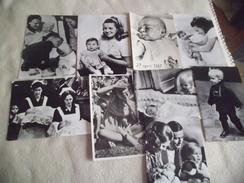 LOT DE 9 CARTES FAMILLE ROYALE HOLLANDAISE ...MARGRIET...WILEM .. - Ansichtskarten