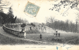 Juvisy-sur-Orge - Le Parc Du Château - La Terrasse - Phototypie A. Berger, Carte Précurseur - Juvisy-sur-Orge