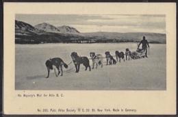 Canada - His Majesty's Mail For ATLIN (B.C.). - Britisch Kolumbien