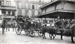 -E-   Visite Du Président De La République à REIMS (19 Octobre 1913) / Place Des Marchès - Reims
