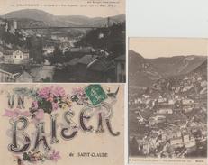 17 / 1 / 168  -   LOT  DE  13  CPA  &  CPSM  DE  SAINT  CLAUDE  -  Toutes Scanées - Postcards