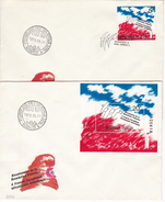 800 Hungary FDC 1989 Bicentenaire De La Revolution Francaise - Franz. Revolution