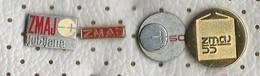 SLOVENIA 4 Pins ISKRA Electric Industry Zmaj Battery - Trademarks