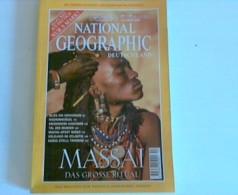 National Geographic Deutschland Oktober 1999 - Massai: Das Große Ritual - Livres, BD, Revues