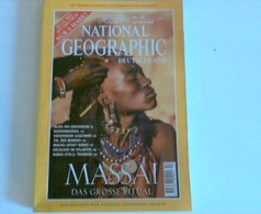 National Geographic Deutschland Oktober 1999 - Massai: Das Große Ritual - Books, Magazines, Comics