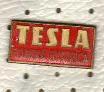 Czechoslovakia Tesla Banska Bystrica Pin - Celebrities