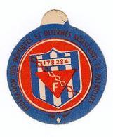 Insigne En Carton De La Fédération Des Déportés Et Internés Résistants Et Patriotes - 1939-45