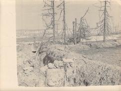 Photo Ancienne  Originale  Une Tranchèe  1914 1918 Ww1 Grande Guerre - Guerre, Militaire