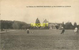 44 Ste Lumine De Clisson, Chateau Du Mortier-Boisseau, Femme Et Chien, Troupeau...., Carte Pas Courante Affranchie 1913 - Andere Gemeenten