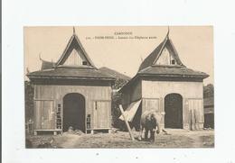 PNOM PENH 512 CAMBODGE LOCAUX DES ELEPHANTS SACRES