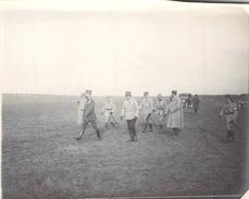 Photo Ancienne  Originale La Visite De L'état Major  1914 1918 Ww1 Grande Guerre - Guerra, Militari