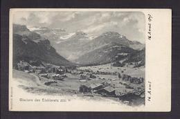 CPA SUISSE - LES DIABLERETS - Glaciers Des Diablerets 3251 M - Très Jolie Vue De La Vallée Et Du Village Chalets - VD Vaud