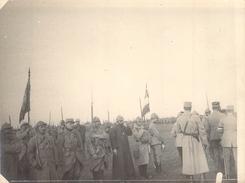 Photo Ancienne Originale Défilé Devant  L'état Major  1914 1918 Ww1 Grande Guerre - Guerre, Militaire