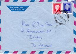 1975 Brief Van CAPETOWN KAAPSTAD PAQUEBOT   Van Nedlloyd Lines T.S. Nedlloyd DELFT  Naar Didam - Poststempel