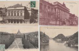 17 / 1 / 178  -  LOT  DE  8  CPA  DE  SAINT  ETIENNE  - Toutes Scanées - Cartes Postales