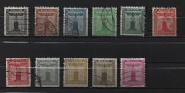 Allemagne 1938 11 Timbres De Service Oblitérés. N° 105 à 115.(Yvert Et Tellier ) - Allemagne