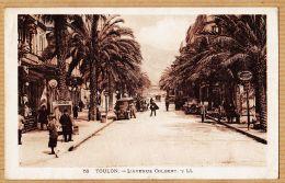 TLS628 TOULON Var Cinéma FEMINA Automobile Avenue COLBERT 1929 à DUSSOL Journal Mutilés Paris-LEVY-NEURDEIN 58 - Toulon
