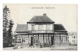 FONTAINE-le-DUN  (cpa 76)  Maison DUJARDIN-   - L 1 - Fontaine Le Dun