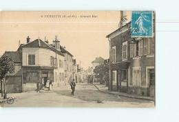 VERNEUIL - Grande Rue Animée - 2 Scans - Verneuil Sur Seine