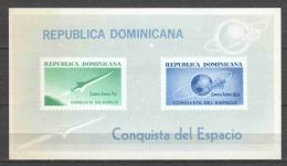 Dominican Republic 1964 Mi Block 34 MNH SPACE (READ) - Space