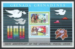 Grenada Grenadines 1974 Mi Block 3 MNH UPU - UPU (Union Postale Universelle)