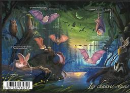 France 2013 - Yv N° F4739 ** - Les Chauves-souris (4739 à 4742) - Nuevos