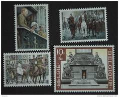 België Belgique Belgium 1968 50 Verjaardag Bevrijding Anniversaire Libération 1474-1477 MNH ** - Nuevos
