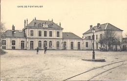 12217.....PONTARLIER,  La Gare - Pontarlier