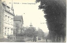 CPA - PK - AK    UCCLE  Avenue Longchamps - Lanen, Boulevards