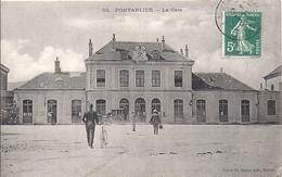 12221.....PONTARLIER,  La Gare - Pontarlier